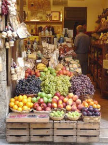 Chianti fruit and vegetables