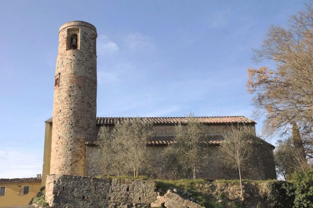 The early mediaeval church of Santa Maria a Pacina