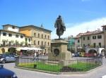 Piazza Matteotti in Greve in Chianti