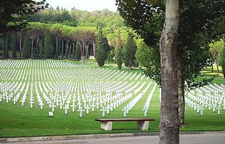 American World War II cemetery Florence