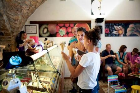 Best gelato in Chianti