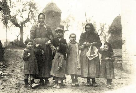 Contadini chiantigiani - a Chianti sharecropper family