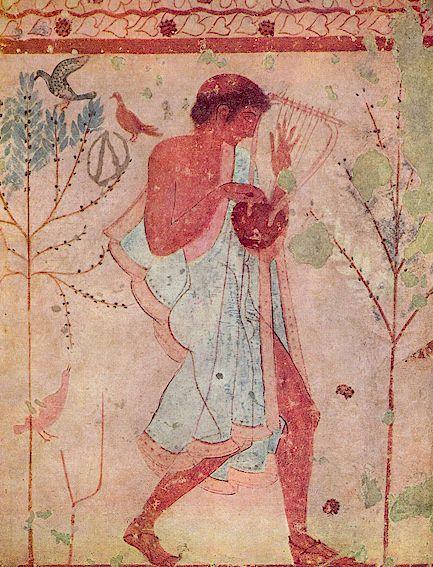Etruscan musician
