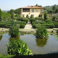 Tuscan garden of Villa Gamberaia