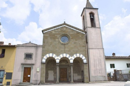 Church of San Cristoforo, Strada