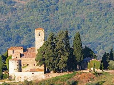 Romanesque parish church (pieve) San Polo in Rosso in Chianti