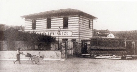 Tavarnuzze tram station