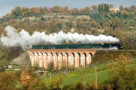 Trenonatura viadotto Casavecchia Tuscany