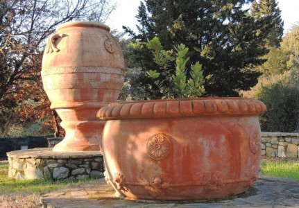 Impruneta and terracotta manufacture