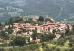 "The ""Castello"" of Montefioralle near Greve in Chianti"