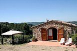 Holiday cottage on a winery near Panzano in Chianti