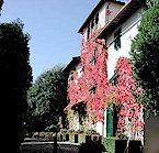 Villa Le Barone luxury villa-hotel with restaurant, tennis court and pool, near panzano in Chianti