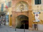 The Vicolo dell' Arco in Castelnuovo Berardennga