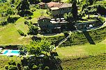 Vacation apartments near the village of La Panca, In Chianti, Tuscany