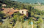 Three country apartments for 2, 3 or 4 persons with swimming pool in the hills above Greve in Chianti, Tuscany