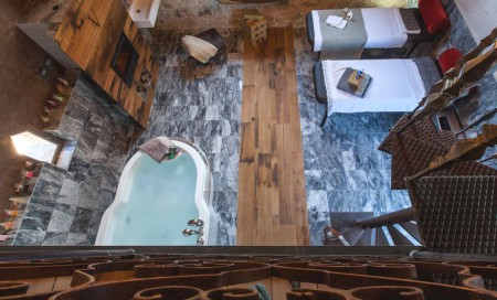 Whirlpool spa accommodations in Tuscany